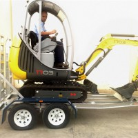 BT4-BT225 Ultralite Series Mini-Excavator Trailer – 2