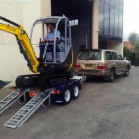 BT4-BT225 Ultralite Series Mini-Excavator Trailer – 3