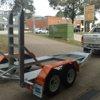 BT4-BT350 Ultralite Series Mini-Excavator Trailer – 1