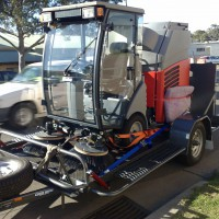 BT7 Sweeper Tilt Trailer – 1