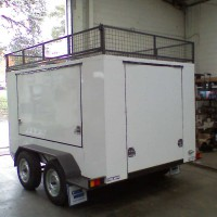 BT8 Enclosed Tandem Trailer – 2