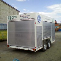 BT8 Enclosed Tandem Trailer – 3