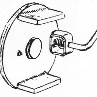 Jockey Wheel Swivel Plate JW825